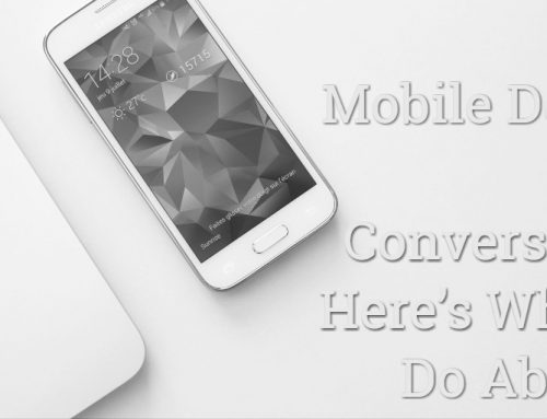 Mobile Design Kills Conversions: Here's What to Do About It