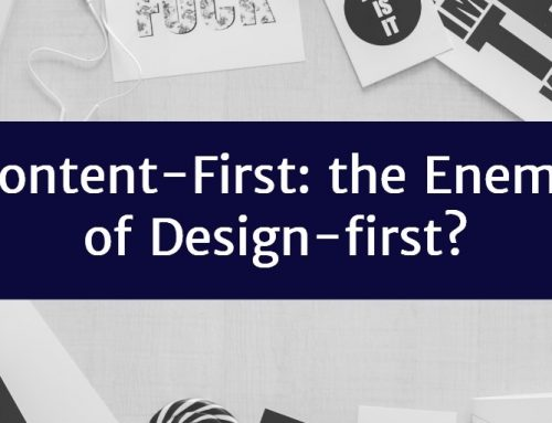 Content-First: the Enemy of Design-first?
