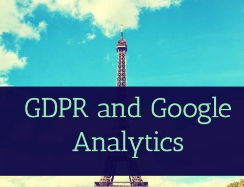 GDPR and Google Analytics