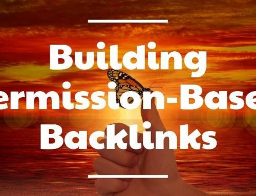 Building Permission-Based Backlinks: Simple  Easy