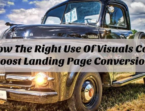 How The Right Use Of Visuals Can Boost Landing Page Conversion